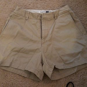 ♤♤♤Gap loose fit dark khaki shorts♤♤♤